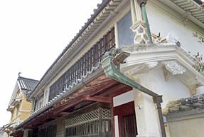 内子町八日市護国伝統的建造物群保存地区・本芳我家住宅