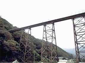 兵庫県・余部鉄橋