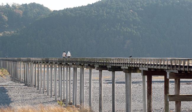 静岡・蓬莱橋