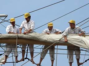 帆をたたむ
