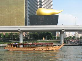 隅田川の船・ヒミコ