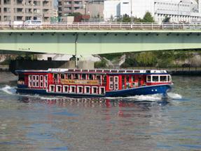 隅田川の船