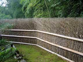 嵯峨野・嵐山の垣根