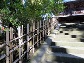 円覚寺の垣根