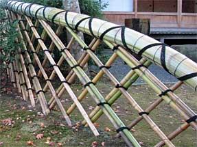 箱根美術館の垣根