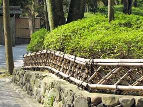 今熊野観音寺の垣根