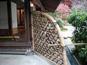 浄妙寺・茶室と枯山水庭園