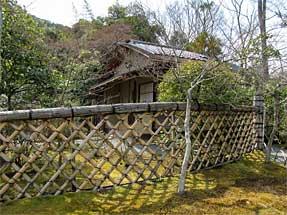 光悦寺の垣根