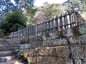 仙巌園の垣根