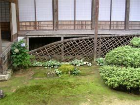 永明寺の光悦寺垣
