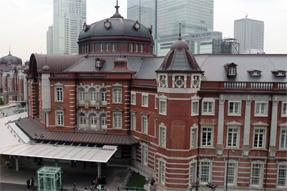 KITTEから見た東京駅
