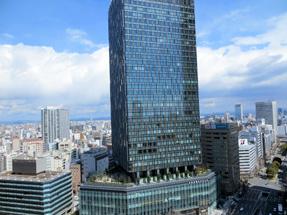 スカイストリートからの眺望・大名古屋ビルヂング