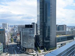 スカイストリートからの眺望・ミッドランドスクエア