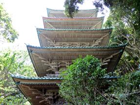 龍口寺・五重塔