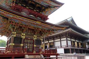 成田山新勝寺・三重塔