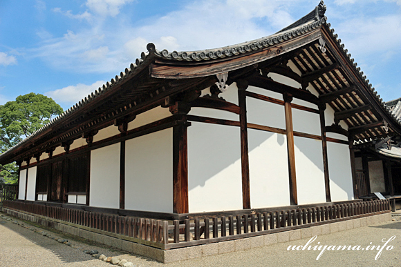 法隆寺・伝法堂
