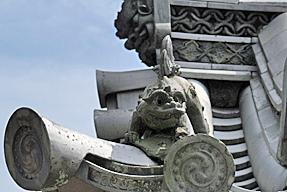法隆寺・瓦
