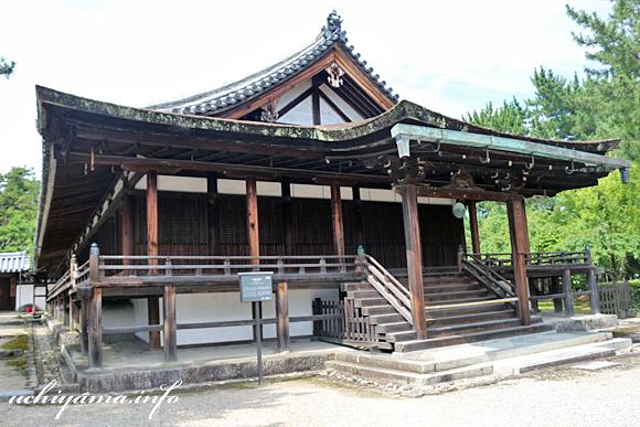 法隆寺 三経院・西室