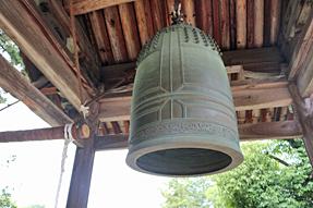 法隆寺・西円堂の鐘
