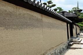 法隆寺・築地塀