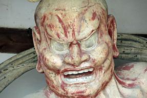 法隆寺・阿形像