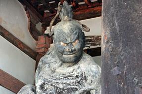 法隆寺・吽形像