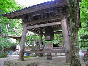 百済寺・鐘楼