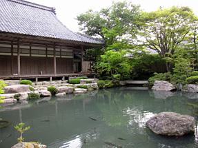百済寺・喜見院の庭園