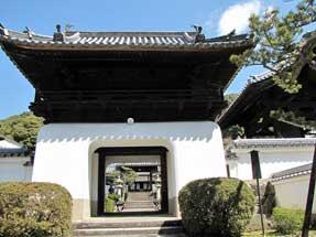 興聖寺・山門