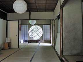 祇王寺・吉野窓