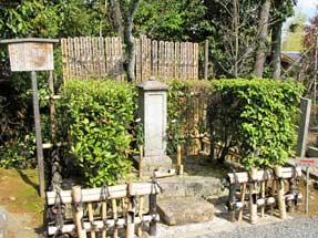 常照寺・吉野太夫の墓