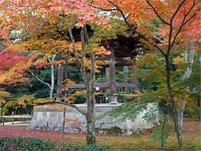 金閣寺・鐘楼