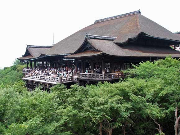 清水寺・本堂、舞台