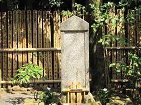 光悦寺・本阿弥光悦の墓