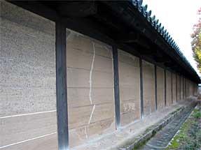 三十三間堂・太閤塀