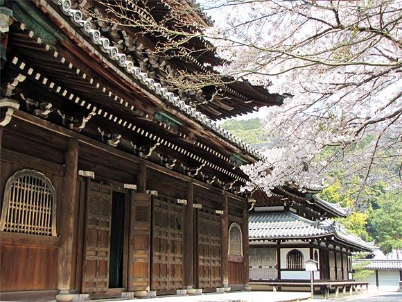 泉涌寺・仏殿と舎利殿