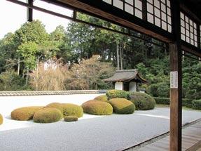 正伝寺・借景庭園