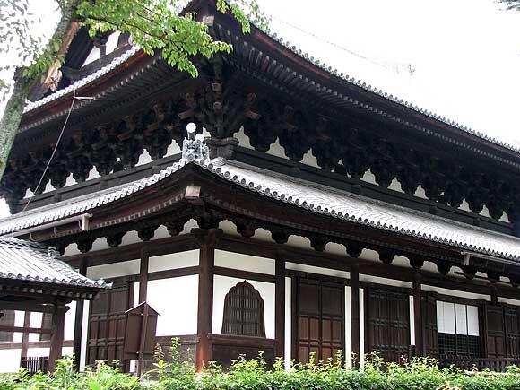 相国寺・法堂(はっとう、重文)
