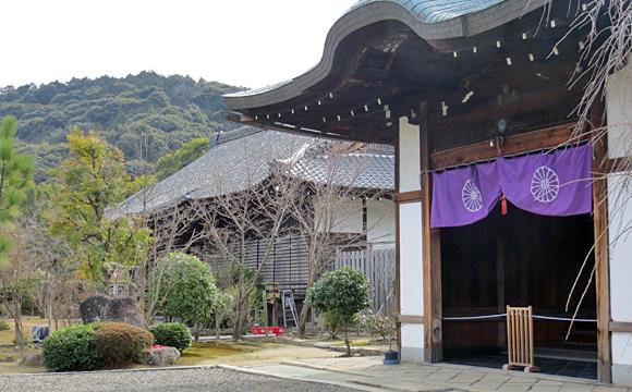 勧修寺・宸殿