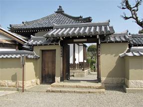 飛鳥寺・西門