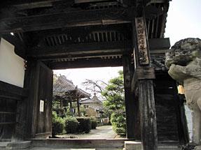 橘寺・東門(正門)