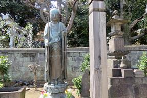 浄光寺・銅造地蔵菩薩立像