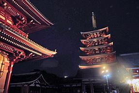 宝蔵門・五重塔