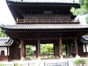 建仁寺・三門