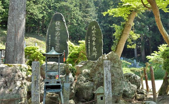 大洞院・森の石松の墓