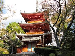 方広寺・三重の塔