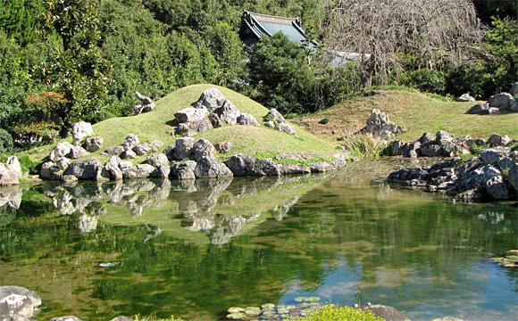 摩訶耶寺・庭園