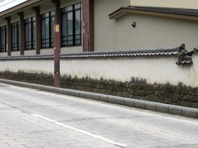 大樹寺の土塀