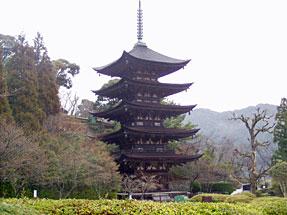 瑠璃光寺・五重塔