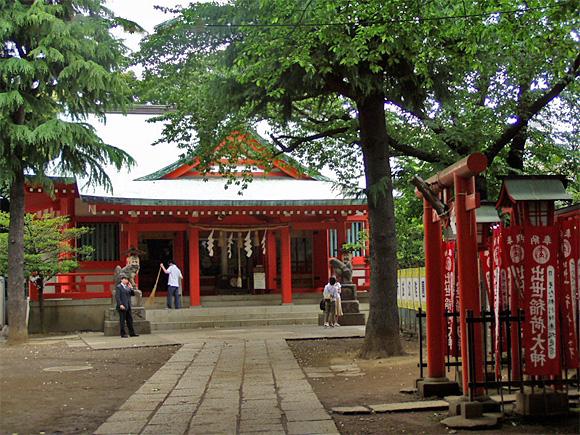 以前の赤城神社